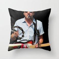 ed droste // grizzly bear Throw Pillow