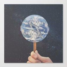 Lollipop Globe Canvas Print