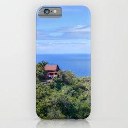 Little House on La Palma iPhone Case