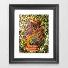 Big Rock Candy Mountain Framed Art Print