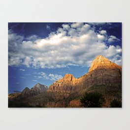 What Happens In Zion Stays In Zion Canvas Print