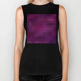 Re-Created Colored Squares No. 37 by Robert S. Lee Biker Tank