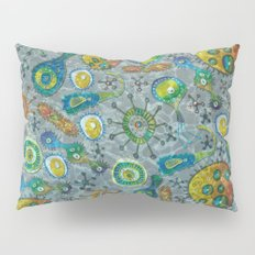 Blue Green Algae Pillow Sham