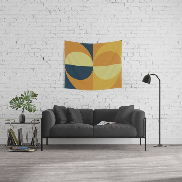 Geometry Games Wall Tapestry
