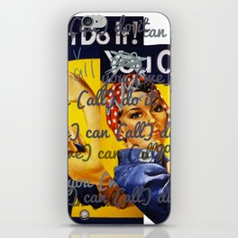 We Can All Do It iPhone Skin