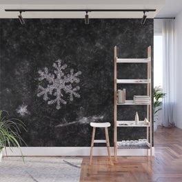 Winter Snowflake Wall Mural