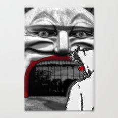 For Shame v2: Carnivale Canvas Print