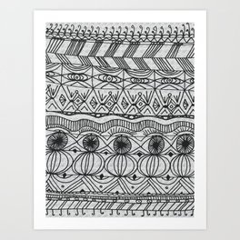 Blanket of Confusion Art Print