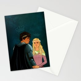 The Brave Princess & The Rebel King Stationery Cards