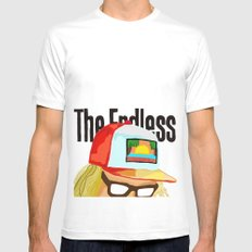 The Endless ONE SMALL White Mens Fitted Tee