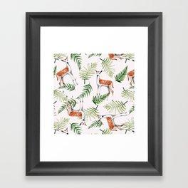 Roe-deers Framed Art Print