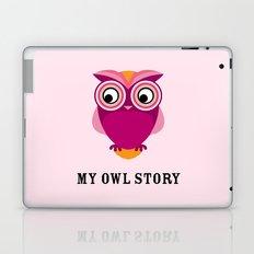 My owl story Laptop & iPad Skin
