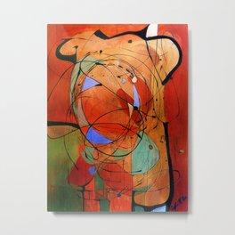 (Vibrant) Abstract Design Metal Print