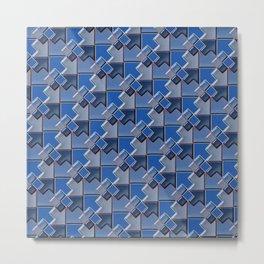 Geometrix XCV Metal Print