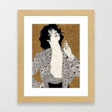 Come On (She Make Me Kill Myself) Framed Art Print