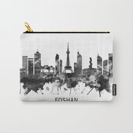 Foshan China Skyline BW Carry-All Pouch