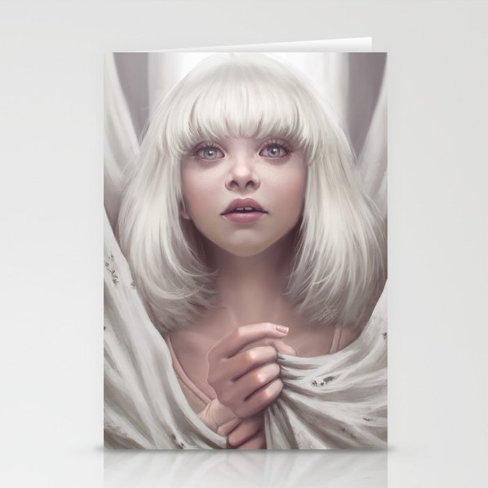 Maddie Ziegler Sia Chandelier Stationery Cards