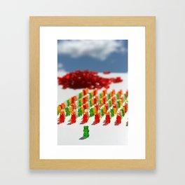 GUMMIBAR Framed Art Print