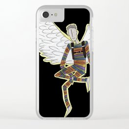 Gabriel the Angel Clear iPhone Case