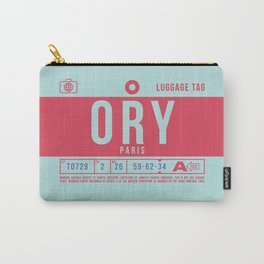 Luggage Tag B - ORY Paris Orly France Carry-All Pouch