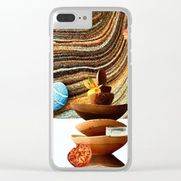 Sand Bowls Clear iPhone Case