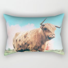 Highland Cow #society6 #decor #buyart Rectangular Pillow