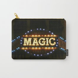 Main Street Magic Shop Marque (Nighttime No. 2) Carry-All Pouch