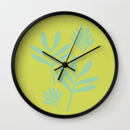 Botanical #4 Wall Clock