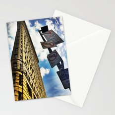 Looking Up At Flat Iron Stationery Cards