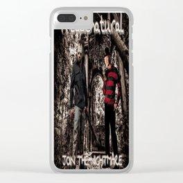 Freddienatural Clear iPhone Case