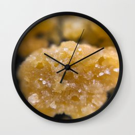 Pineapple Express Live Resin Wall Clock