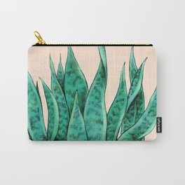 Sansevieria Carry-All Pouch