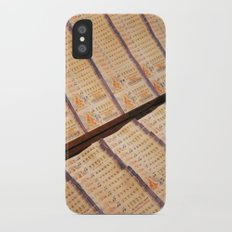 Thai Lottery iPhone X Slim Case