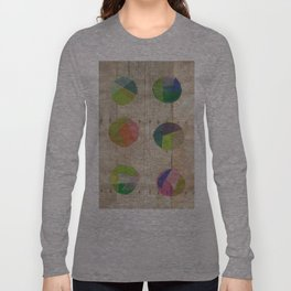 Circles on Wood Long Sleeve T-shirt