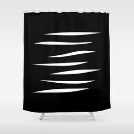 CUTS Shower Curtain