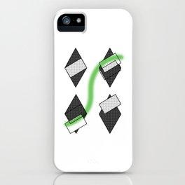 losange abstrait iPhone Case