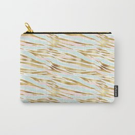Mint & Gold - net Carry-All Pouch
