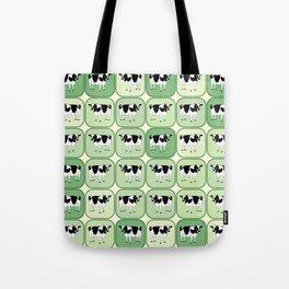 Tiled cows pattern Tote Bag