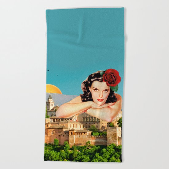 MI ALHAMBRA  Beach Towel
