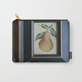 Pear Botanical Carry-All Pouch