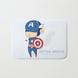 Captain America Bath Mat