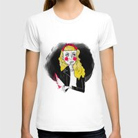 50s T-shirts featuring 50s Rebel by Rebecca Span