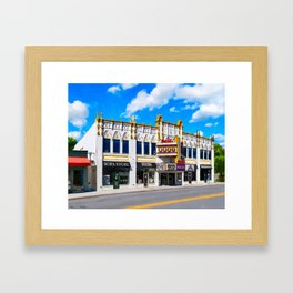 The Old Roxy In Atlanta Framed Art Print