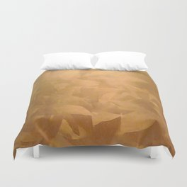 Brushed Copper Metallic - Beautiful - Rustic Glam - Fancy Faux Finishes - Unique Duvet Cover