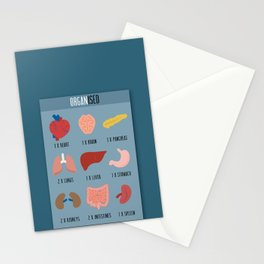 Organised Stationery Cards