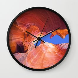 Geology Alive - Time Passages of Antelope Canyon Wall Clock