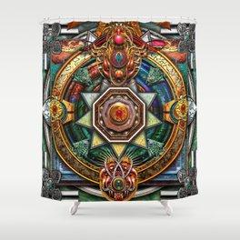 Extraordinary Celtic Mandala Shower Curtain
