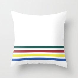 PB Rainbow Throw Pillow
