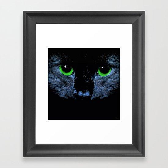 In Moonlight Framed Art Print