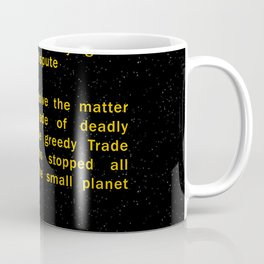 Episode I Crawl Text Coffee Mug